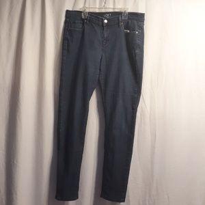 Loft modern skinny jean size 10